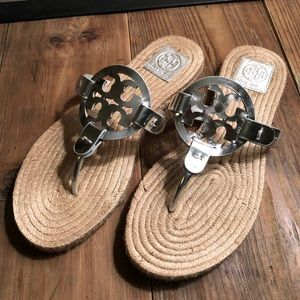 NWOT Tory Burch Miller Sandals